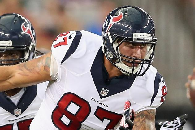 For Fiedorowicz to Catch on with Texans, TE's Hands Must Improve