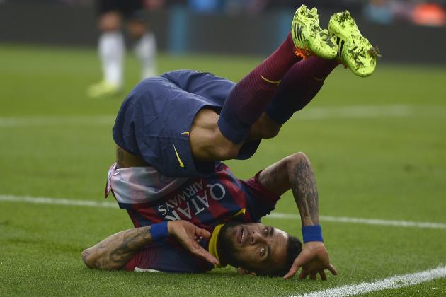 Barcelona Transfer News: Latest on Dani Alves, Douglas and More