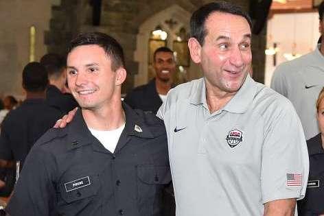 Mike Krzyzewski, Coach K, Brings Team USA to His Alma Mater