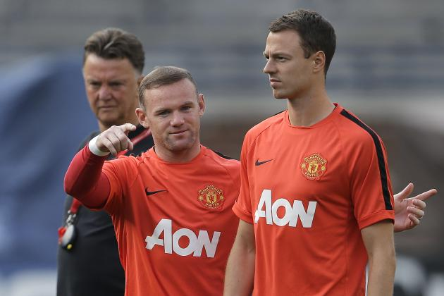 Louis van Gaal Blasted by Paul Parker for 'Ridiculous' Wayne Rooney Captain Call