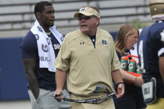 Brian Kelly Expects Resiliency Amid Academic Investigation