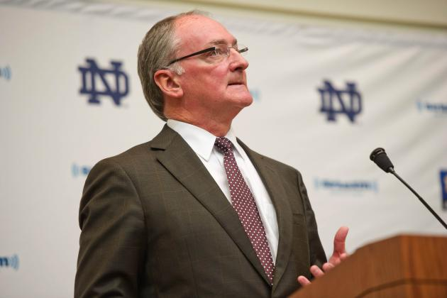 Notre Dame AD Says Academic Scandal Not an Institutional Problem