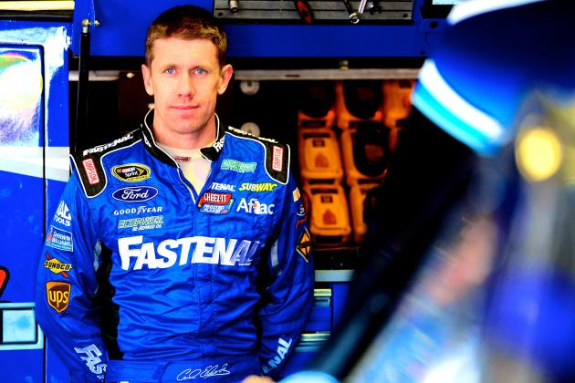 Carl Edwards Will Join Joe Gibbs Racing in 2015