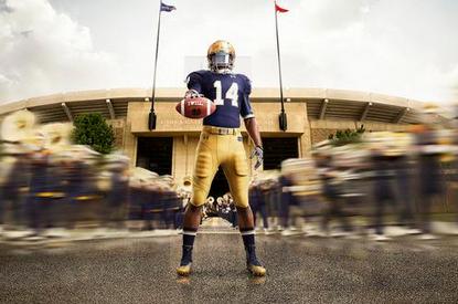 Notre Dame Unveils New Under Armour Uniforms