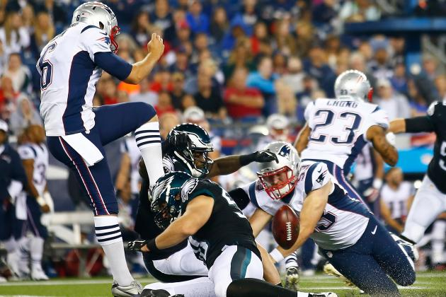 Patriots Look to 'Eliminate Bad Plays' in Punting Game