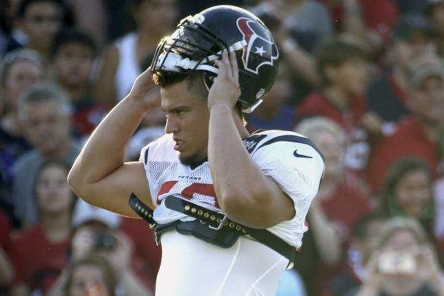 Texans' New Depth Chart for Denver Game