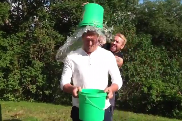 Edge and Christian Do the ALS Ice Bucket Challenge