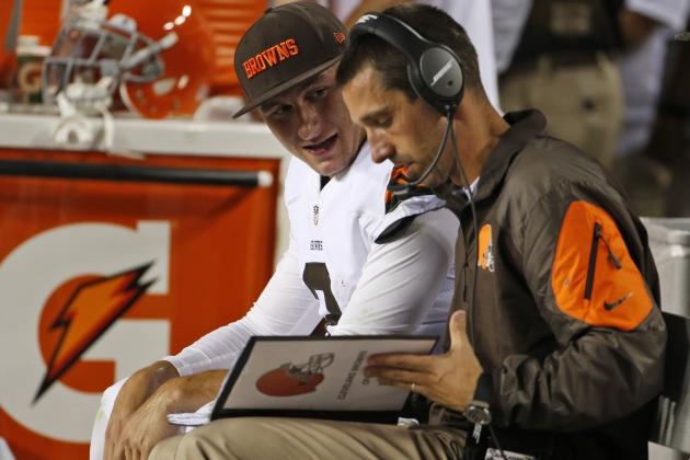 Johnny Manziel Must Start Season on Bench for Cleveland Browns