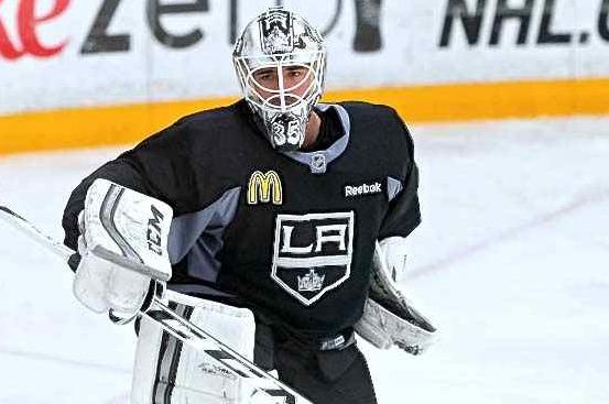 Los Angeles Kings Resign Goaltender Jean-Francois Berube