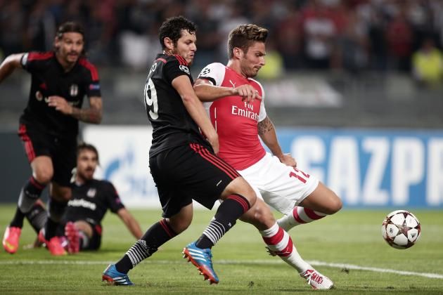 Besiktas vs. Arsenal: Score, Grades and Post-Match Reaction