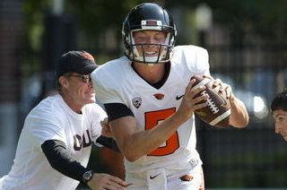 Oregon State Beavers Backup Quarterback Contenders Brent VanderVeen