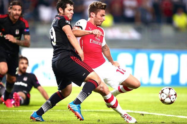 Besiktas vs. Arsenal: Score, Grades and Post-Match Reaction