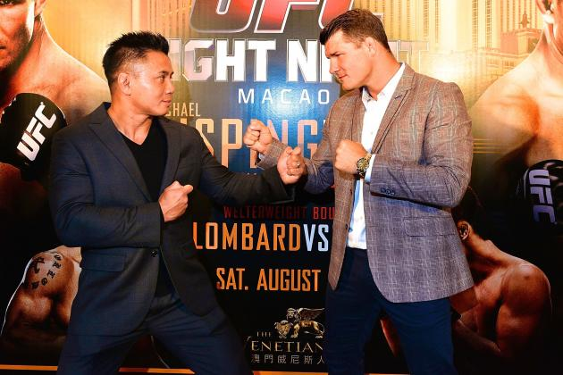 Michael Bisping vs. Cung Le: Contrived Insults Are Totally Unnecessary