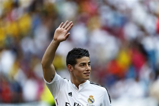 Twitter Reacts to James Rodriguez's Performance vs. Atletico Madrid in Supercopa