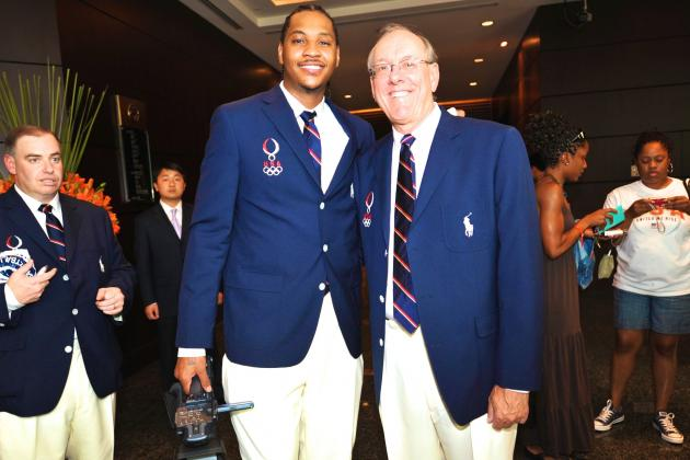 Jim Boeheim Thinks Carmelo Anthony Would Be Better Off with Chicago Bulls