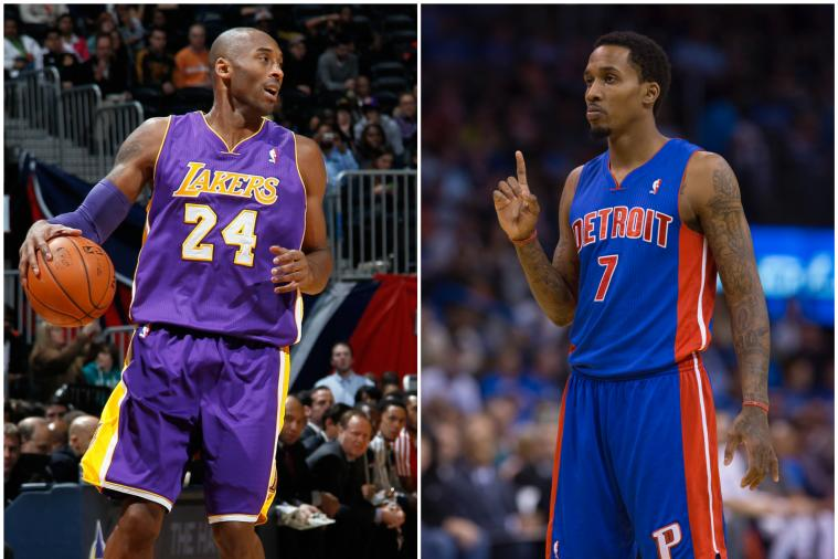 Brandon Jennings Calls Kobe Bryant 'The Greatest Ever,' Says MJ Had Better Cast