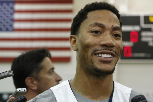 Derrick Rose Would Be Wise to Sit out Team USA's Wednesday Exhibition