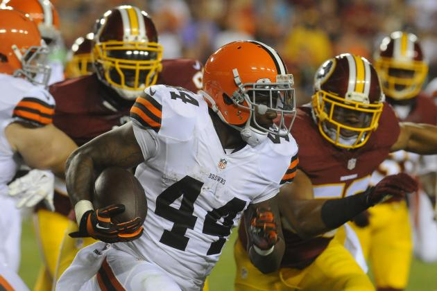 Ben Tate Is Nothing More Than a Flex Fantasy Football Option in 2014