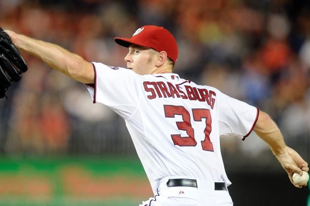 Strasburg Goes 8 Strong, Nats Rout D-Backs