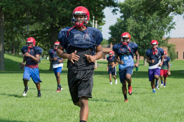 MMQB: HS Team Persevering in Ferguson