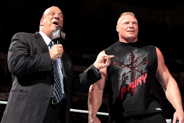 Brock Lesnar and Paul Heyman Create the Perfect Heel-Manager Duo