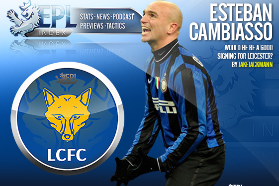 Would Cambiasso Be a Good Signing for Leicester?