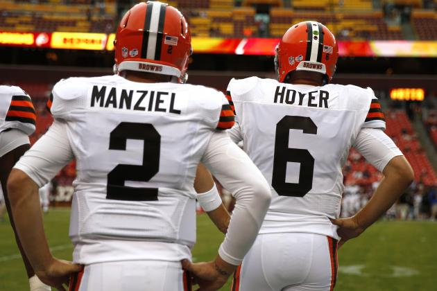 Brian Hoyer, Johnny Manziel's Fantasy Outlook After Starting QB Announcement