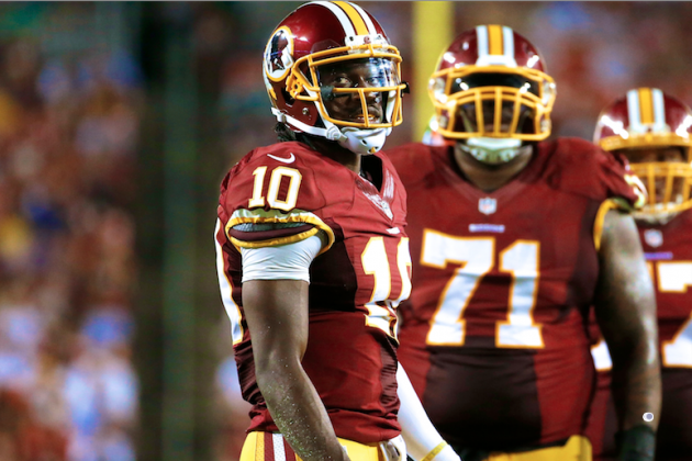 Mike Freeman's 10-Point Stance: RG3 Won't Make It Through the Regular Season