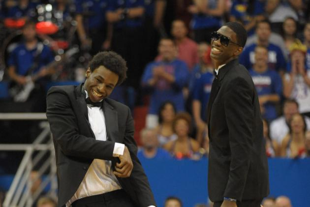 Joel Embiid Expresses His Love of Surprises with Andrew Wiggins Picture