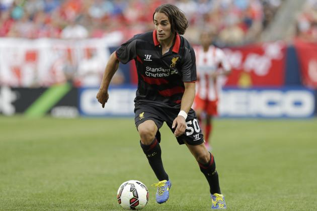Lazar Markovic Talks Steven Gerrard, Brendan Rodgers and Liverpool Price Tag