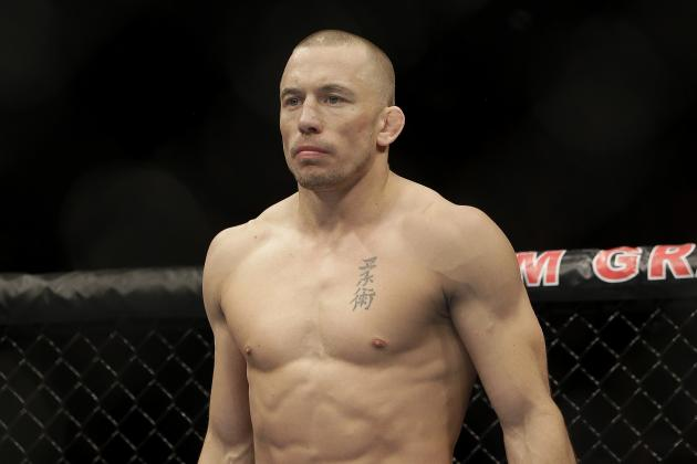 Georges St-Pierre Takes the ALS Ice Bucket Challenge