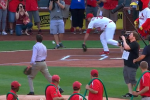 Seriously: Bob Costas Throws Two 1st Pitches