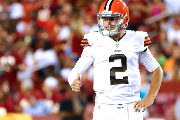 Johnny Manziel Starting on Bench Is Best for His NFL Career