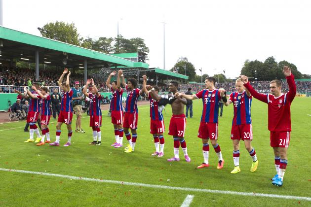 Bayern Munich vs. Wolfsburg: Date, Time, Live Stream, TV Info and Preview