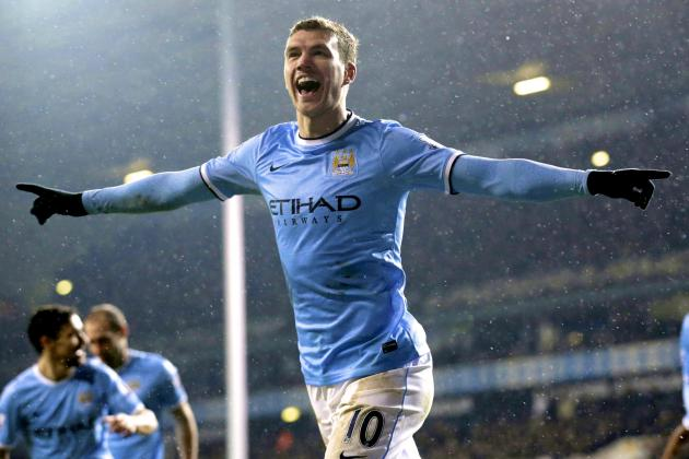 Edin Dzeko's New 4-Year Deal Fitting Reward for His Improved Form