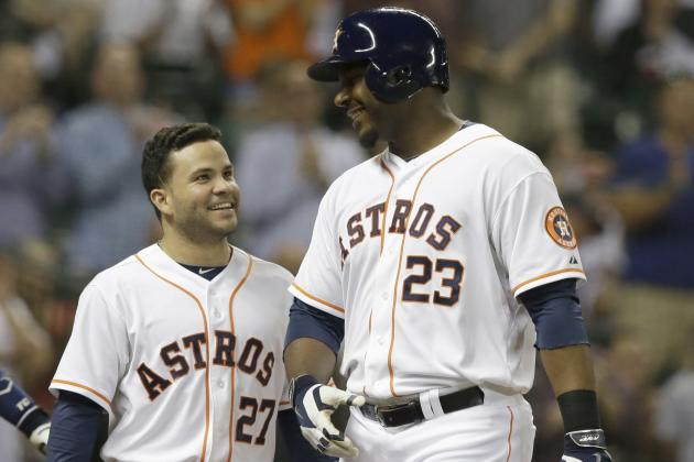 Astros' Chris Carter Records Franchise's First 30-Homer Season Since 2007