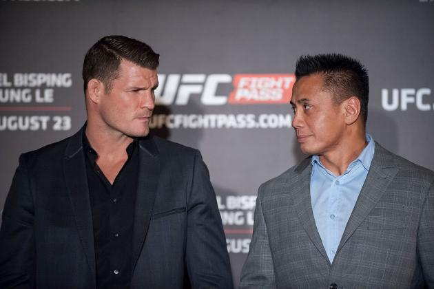 UFC Fight Night 48: Bisping vs. Le Fight Card, Live Stream, Predictions and More
