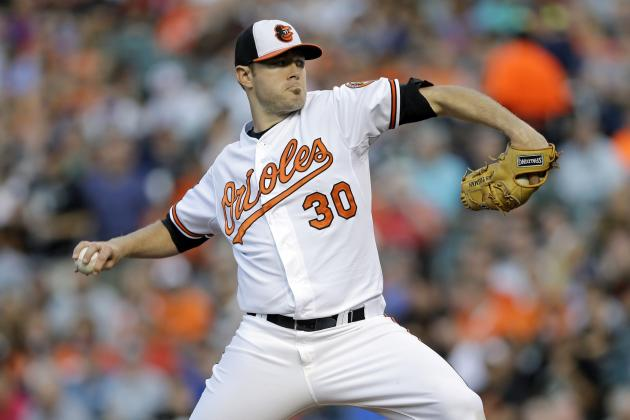 Orioles' Chris Tillman Records 14th Start in a Row with 3 Earned Runs or Fewer