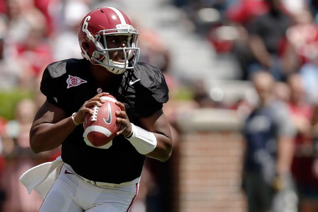 Alabama Football: Blake Sims Isn't Going to the Bench Without a Fight