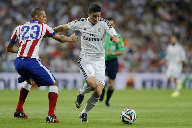 Real Madrid's James Rodriguez Becomes Club's 1st Colombian Goalscorer