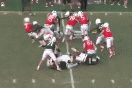 Miami LB Denzel Perryman Utterly Destroys RB in Practice Scrimmage
