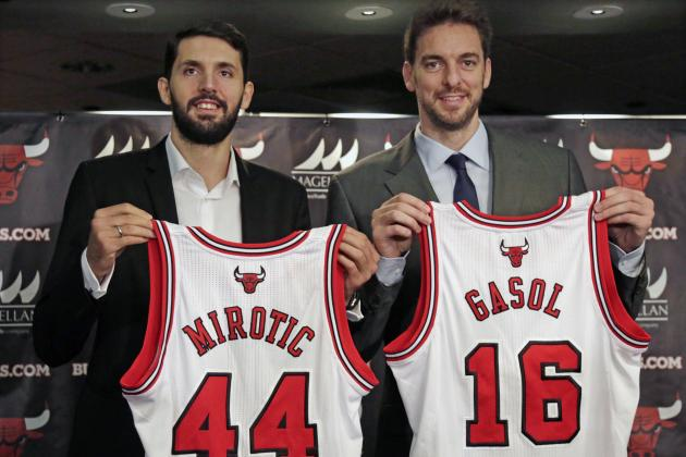 Chicago Bulls' Depth Is a Good but Real Problem