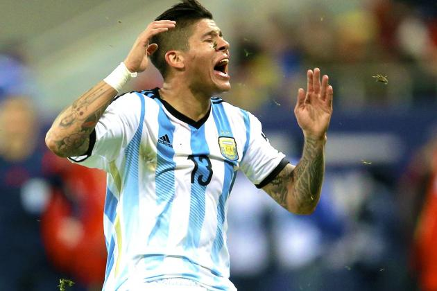 Man Utd's Move for Marcos Rojo Shows Just How Far the Club Has Fallen