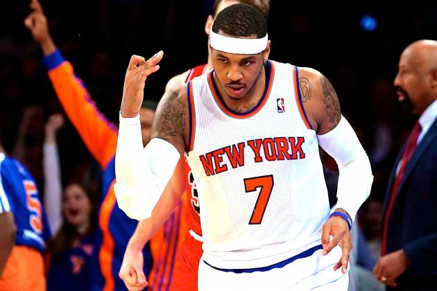 Can Carmelo Anthony Insert Himself into 2014-15 NBA MVP Race?