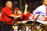 Angels' Pitcher Garrett Richards Suffers Nasty Knee Injury
