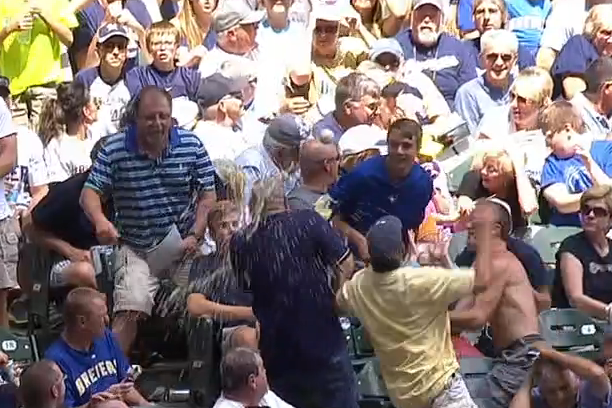 Foul Ball Causes Beer Shower, Fan Comes Up Empty so Broadcasters Buy New Beer