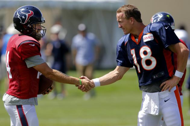 Denver Broncos Joint Practice with Houston Texans: Notes, Quotes and Predictions