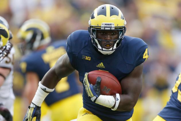 De'Veon Smith on Michigan's Offensive Line, It's 'Better Than It Was Last Year'