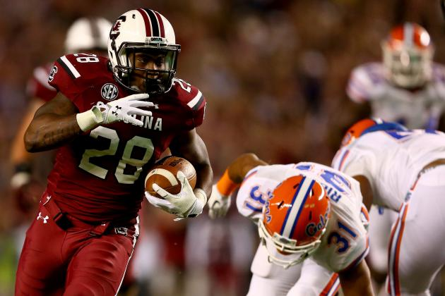 Mike Davis Injury: Updates on South Carolina RB's Ribs and Return