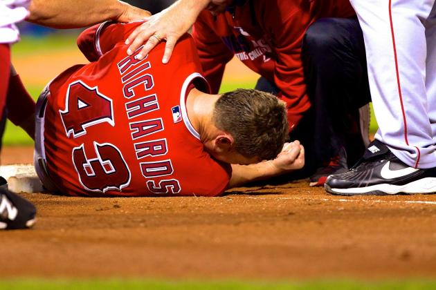 Garrett Richards' Injury Casts Dark Cloud over Angels' Title Hopes